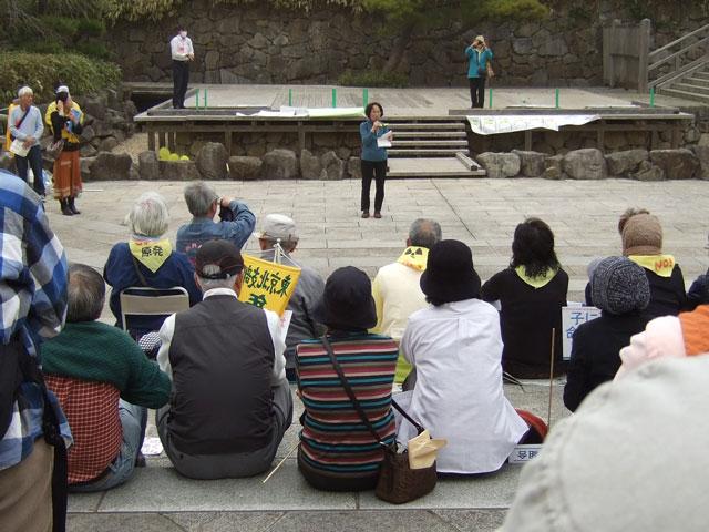 福島からの避難者の訴え