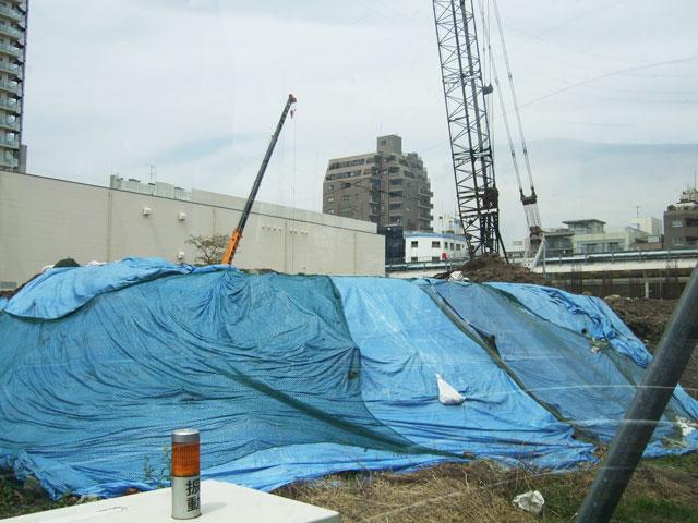 赤岩中新築工事