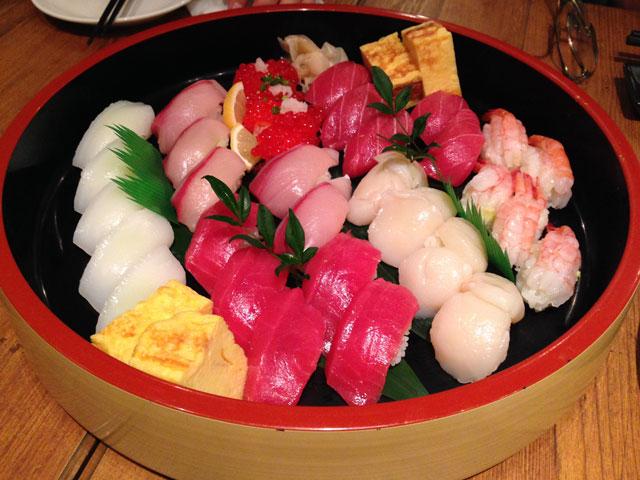忘年会寿司